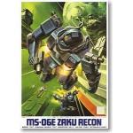 1/144 MSV MS-06E Zaku Recon