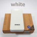 แบตสำรอง Power Bank ZINEN 20000 mAh สีขาว