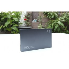 ELOOP E7 Power bank แบตสำรอง 7800 mAh สีดำ