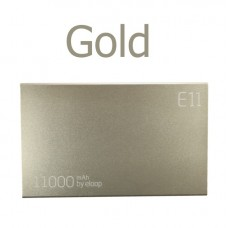 ELOOP E11 Power bank แบตสำรอง 11000 mAh สีทอง