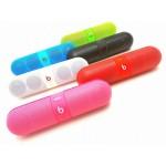 Beats Pill Bluetooth Speaker ลำโพงไร้สาย บีทส์ พิว สีชมพูเข้ม