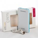 MOOBIBI Note3 แบตสำรอง 10000 mAh สีฟ้า