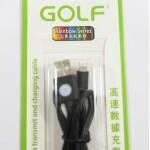 สายชาร์จ lightning iPhone 5/5S,6/6 Plus Golf สีดำ