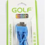 สายชาร์จ iPhone 4/4S Golf สีฟ้า