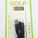 สายชาร์จ Micro USB Golf สีดำ