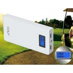 Power Bank GOLF LCD 15600 mAh สีขาว