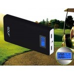 Power Bank GOLF LCD 15600 mAh สีดำ