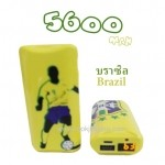 ebai EVA-5600 mAh มีจอ LCD World Cup Series บราซิล (Brazil)
