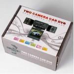 กล้องติดรถยนต์ 2 กล้อง Two Camera Car DVR