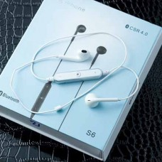 หูฟัง บลูทูธ คุณภาพสูง iPhone s6 Bluetooth Stereo headphone สีเงิน