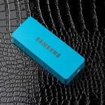 แบตสำรอง Power Bank Samsung 6000 mAh สีฟ้า