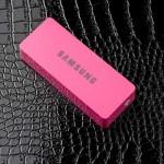 แบตสำรอง Power Bank Samsung 6000 mAh สีชมพู