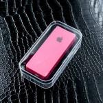 แบตสำรอง Power Bank iPower 6000 mAh Apple สีชมพู