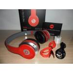 หูฟัง บลูทูธ ไร้สาย Monster Beats solo HD S450 Bluetooth Stereo Headset สีแดง