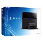 PS4: Console 500GB - Glacier black