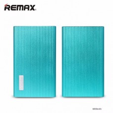 Remax Jazz Platinum 6000 mAh สีฟ้า