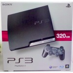 ps3: slim 320gb black