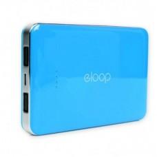 ELOOP E9 Power bank แบตสำรอง 10000 mAh สีฟ้า