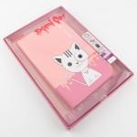 เคส Samsung Tab 3 - T111 Domi Cat 3D Joolzz สีชมพูอ่อน