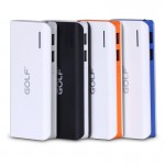 Power bank Golf 13000 mAh Tiger 205 สีดำ