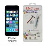 ฟิล์มกระจก iPhone 5/5S ป้องกันคนแอบมอง 9MC ความแข็ง 9H