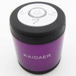 ลำโพง บลูทูธ KAIDAER Bluetooth Speaker สีม่วง