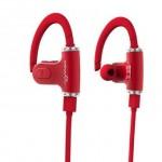 หูฟัง บลูทูธ Roman S530 Sport Special Earplugs สีแดง