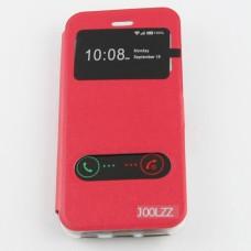 เคสเปิดหน้า JOOLZZ iPhone 6 สีแดง