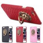 เคส iPhone 6/6S Plastic Pistol หัวสิงโต - แดง