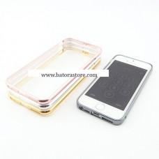 เคส iPhone 6 Plus Bumper สีเงิน