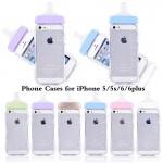 สีขาว เคส iPhone 5/5s ขวดนม