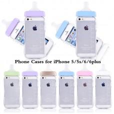 สีม่วง เคส iPhone 6 Plus ขวดนม
