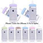 สีฟ้า เคส iPhone 6 Plus ขวดนม