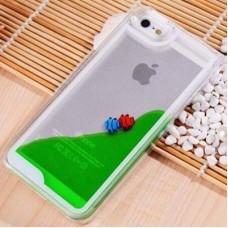 เคส iPhone 6/6S ตู้ปลา สีเขียว