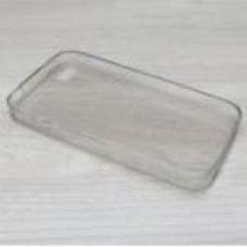 เคส iPhone 4/4S Silicone Soft Case ซิลิโคนใส 0.6 มม. สีเทา