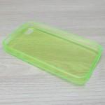 เคส iPhone 4/4S Silicone Soft Case ซิลิโคนใส 0.6 มม. สีเขียว