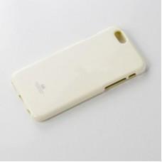 เคส iPhone 6 Plus JELLY GOOSPERY เคสแข็งสีเรียบ สีขาว