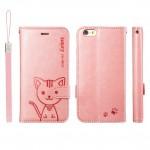 เคส Domi Cat iPhone 6 สีชมพูอ่อน