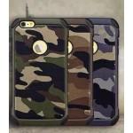 เคส iPhone 5/5S NX Case ลายทหาร สีน้ำตาล