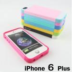 เคส iPhone 6 Plus NX CASE - ชมพูเข้ม