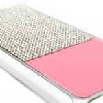 เคสเพชร iPhone 6 Plus - สีชมพู