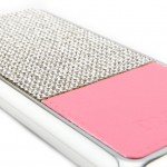 เคสเพชร iPhone 5/5s - สีชมพู