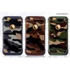 เคส iPhone 6/6s NX Case ลายทหาร สีน้ำตาล