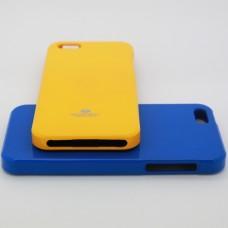 เคส iPhone 5/5s JELLY GOOSPERY เคสแข็งสีเรียบ สีส้ม