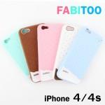 เคส iPhone 4/4S FABITOO สีฟ้า