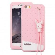 เคส iPhone 6 Plus FABITOO สีชมพูอ่อน