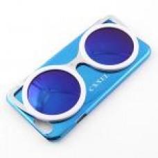 เคส iPhone 6/6s CXXEL สีฟ้า-เลนส์น้ำเงิน