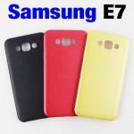 เคส Samsung Galaxy E7 ซิลิโคน สีแดง