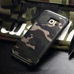 เคส Samsung S6 Edge NX Case ลายทหาร สีเขียว