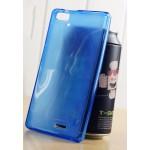 เคส AIS Super Combo Pro 5.0 (LAVA STAR) เคสยางนิ่ม TPU สีเรียบ ผิวมัน - สีน้ำเงิน